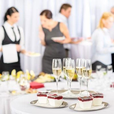 Catering op bedrijfsfeest